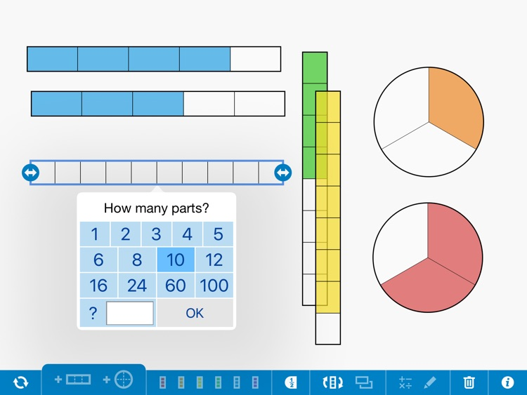 Fractions, by the Math Learning Center screenshot-0