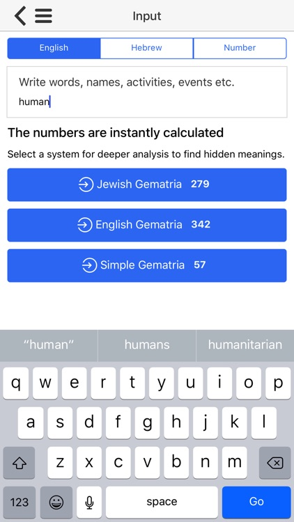 Gematria Numerology Calculator for Kabbalah screenshot-4