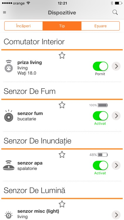 Orange Smart Home screenshot-2