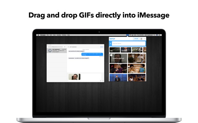 GIF Keyboard on the Mac App Store