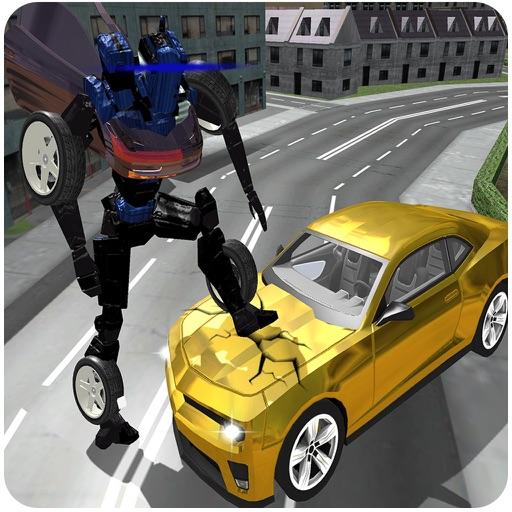 Sports Car Robot Simulator