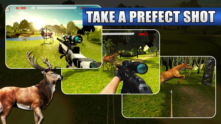 3D Deer Sniper Hunting Game 2017 screenshot-1