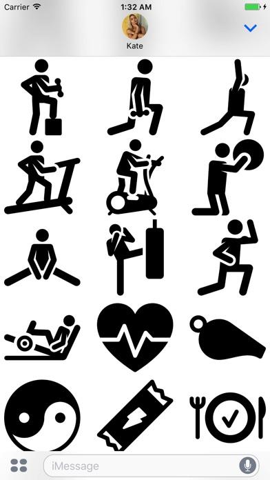 Gymmoji app image