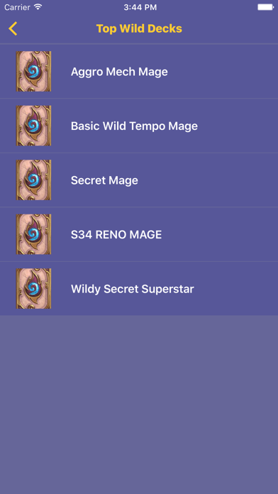 Best Meta Decks for Hearthstone screenshot three