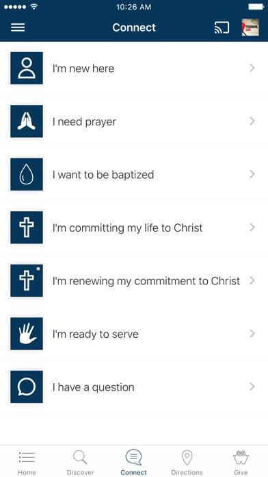 Vineyard Christian Church screenshot 3