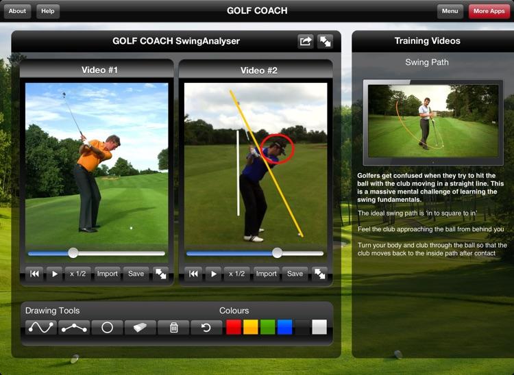 Golf Coach for iPad