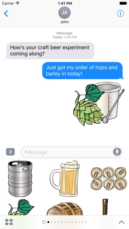 Craft Beer Drinking Stickers