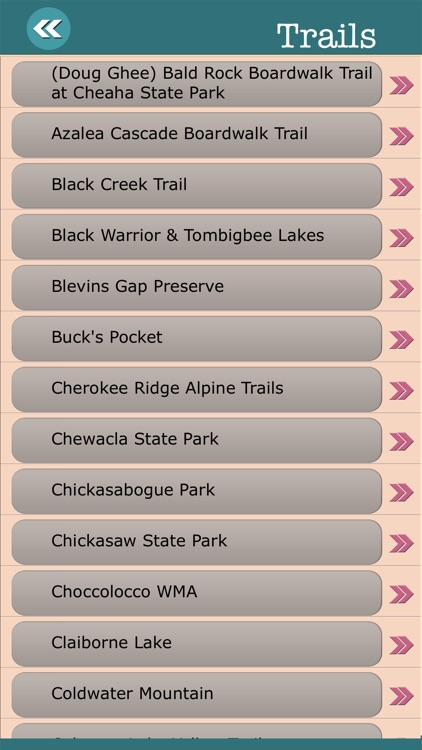 Alabama State Campgrounds & Hiking Trails screenshot-3