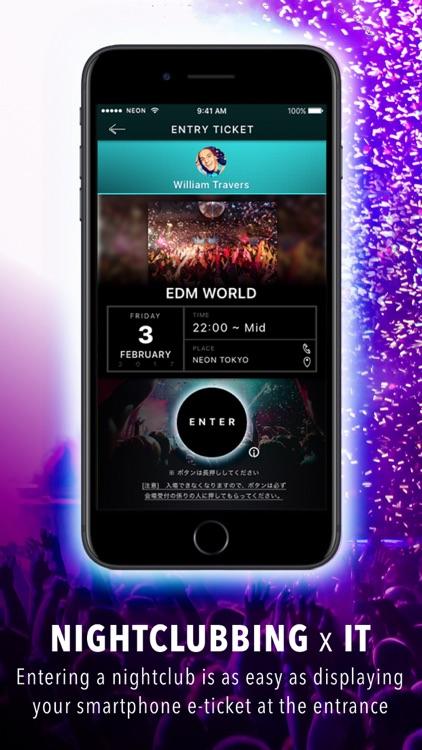 NEON - Smartphone app for Unlimited Nightclubbing screenshot-3