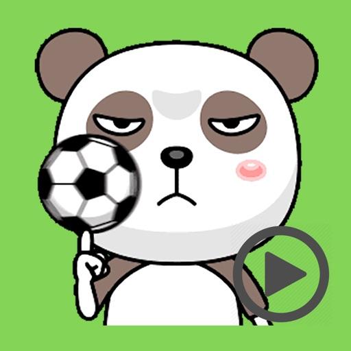 Sleeplest Panda Animated