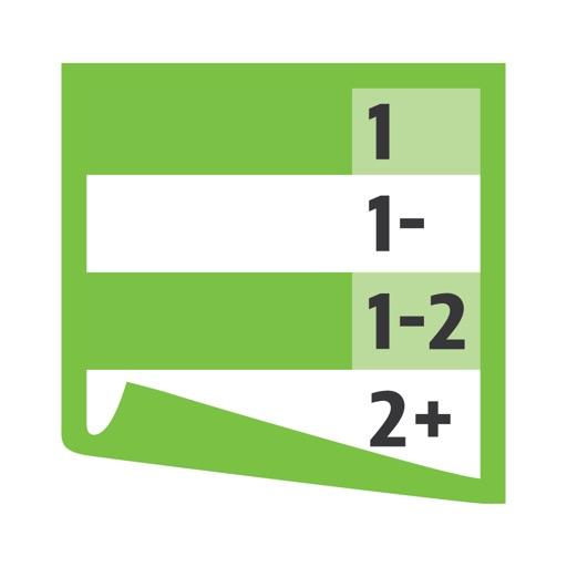 Notentabelle für Lehrkräfte icon