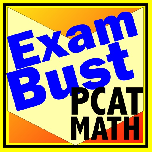 PCAT Prep Math Flashcards Exambusters