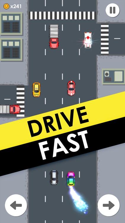 Drive Fast -  2d Retro Racing screenshot-4