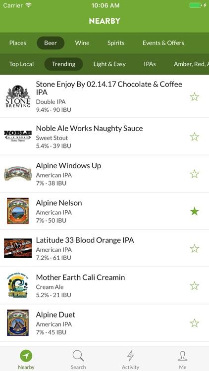 TapHunter - Find Beer, Wine, Spirits, & More