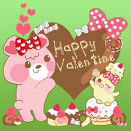 Valentine Card Stickers Pack