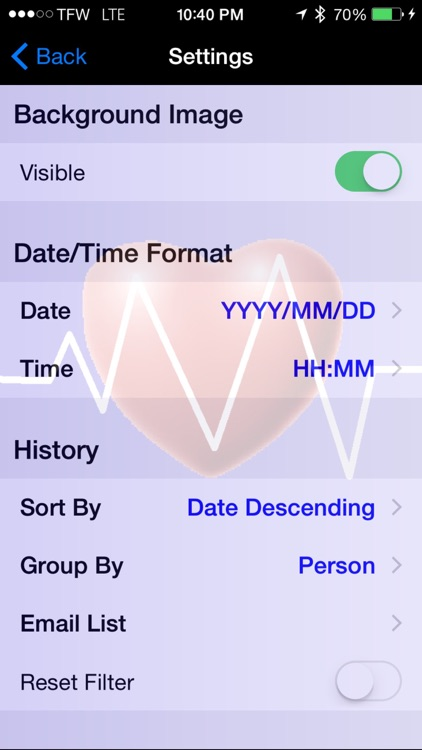Monitor My BP for iPhone and iPad
