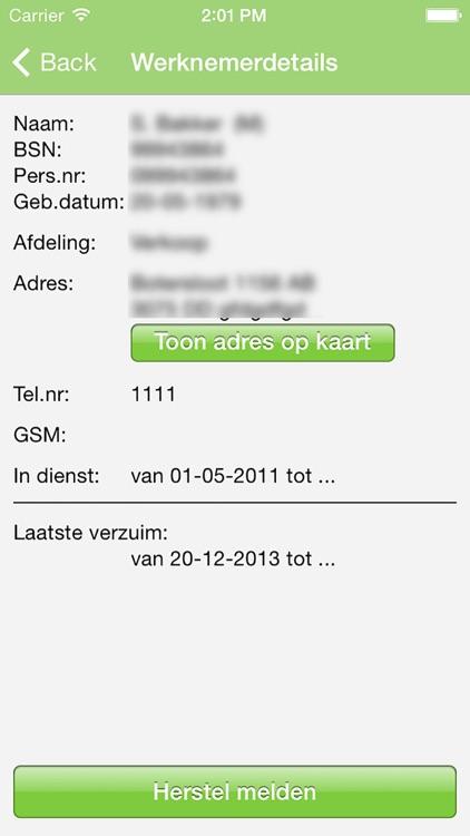 VerzuimInZicht Centraal Beheer screenshot-3