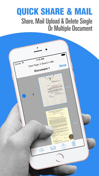 Doc Scanner : Scan PDF Documents & Send Fax screenshot-1