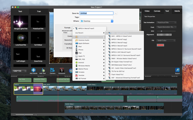 ‎Movie Edit Pro - Video Editor Screenshot