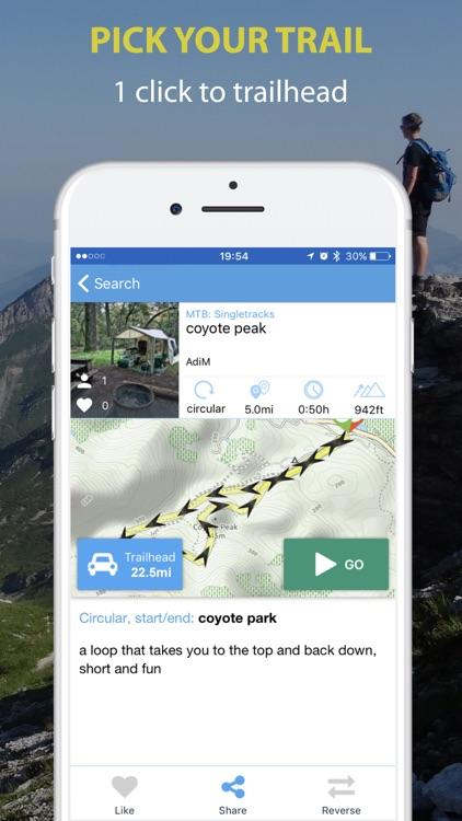 Trailze Biking Hiking Outdoor screenshot-3