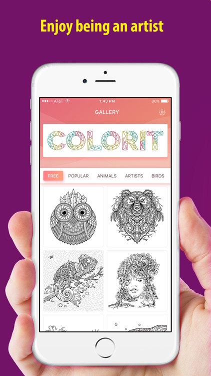 Coloring book - for adults and kids