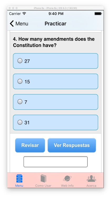 Ciudadania USA: Estudie Para la Entrevista screenshot-3