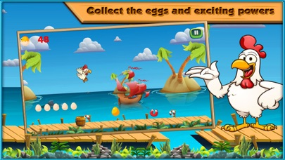 Chicken Run - One Touch Fast Paced Runner Game
