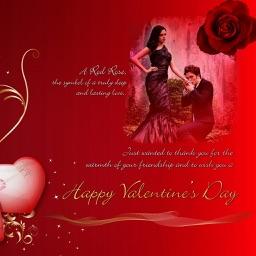 Valentine day photo frame - 2017 love Themes