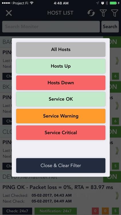 Server Alarms - Nagios Client screenshot-3