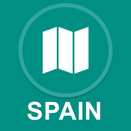 Spain : Offline GPS Navigation