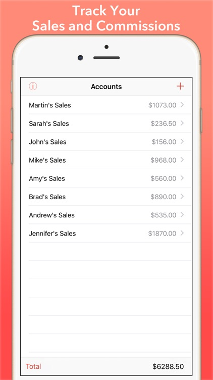 Sold: Sales & Commission Tracking for Salespeople