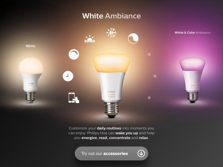 Philips Hue instore app screenshot-4