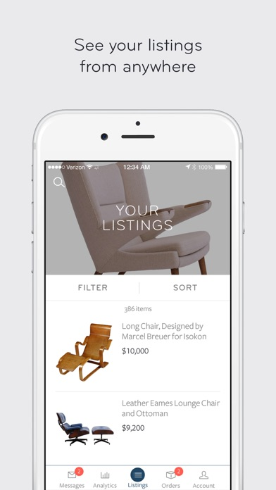 1stdibs Tools for Dealers Screenshot on iOS