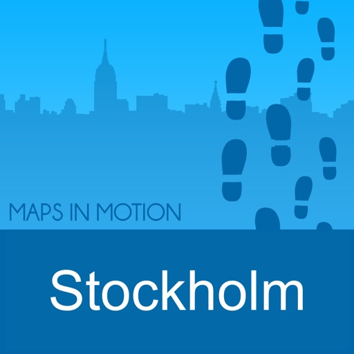 Stockholm on Foot : Offline Map