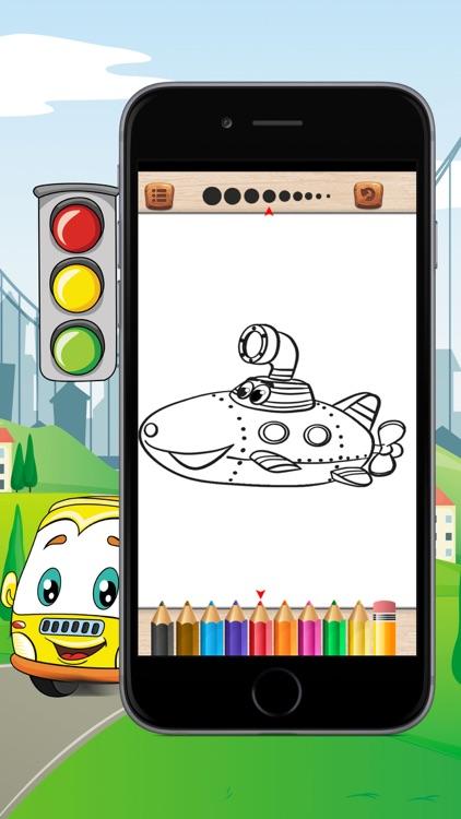 Cars Coloring Book For Kid screenshot-4