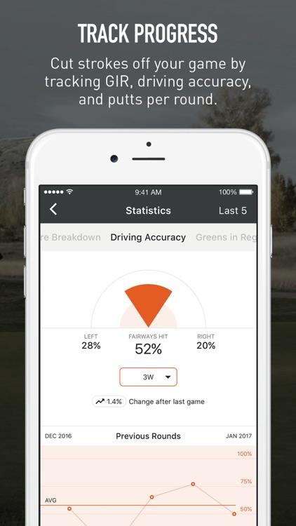VPAR Golf GPS, Scoring & Stats screenshot-3
