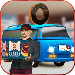 Donut Factory: Delivery Truck