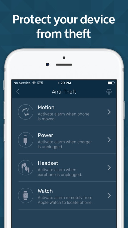 Mobile Security & Anti Theft Protection for iPhone screenshot-4