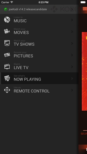 Official Kodi Remote on the App Store