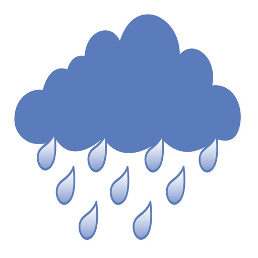 RAIN (raindrops-rain in forest-heavy fall)