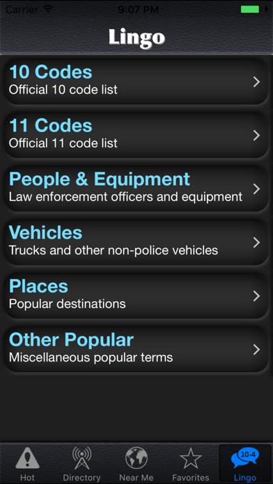 Police Scanner Radio screenshot1