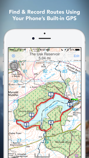 Outdoors GPS – fline OS Maps on the App Store