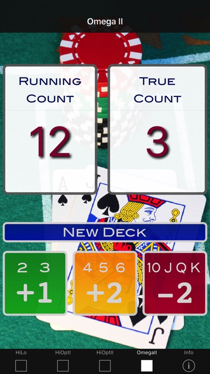 A Blackjack Card Counter - Professional screenshot-3