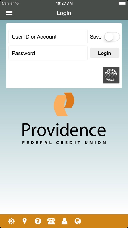 Providence Federal CU Mobile screenshot-0