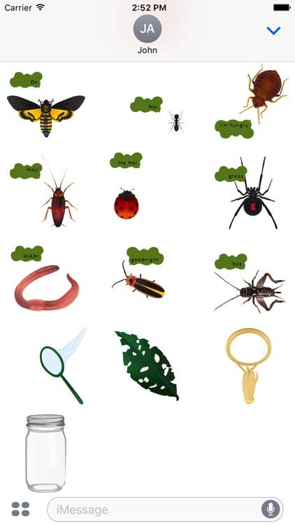 dizzy bugs - Animated Stickers screenshot-1