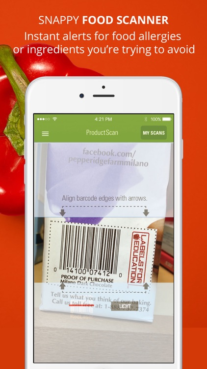 ShopWell - Healthy Diet & Grocery Food Scanner screenshot-3