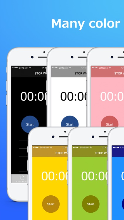 ThreeTimer - Stopwatch.Timer.Round timer screenshot-2