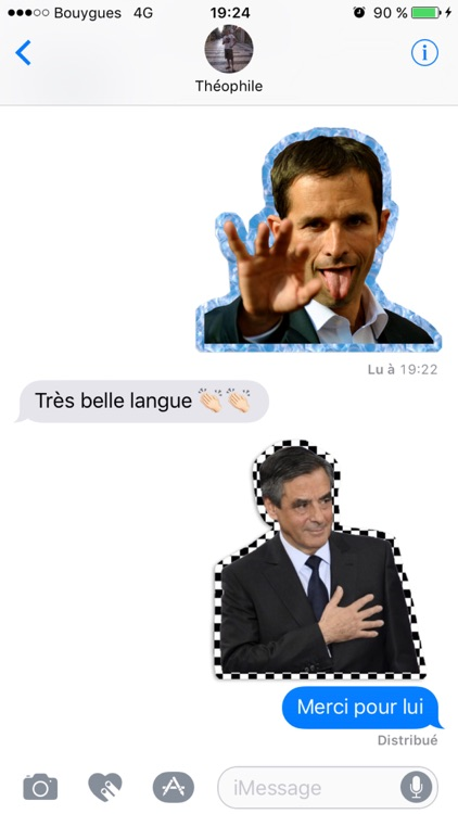 French 2017 Presidential Election Stickers screenshot-1