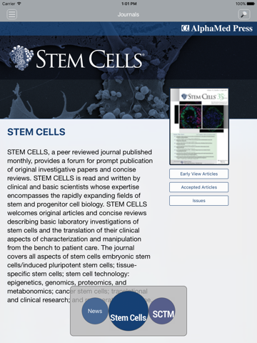 Stem Cells Journals - náhled