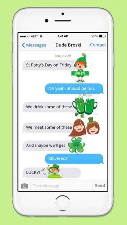 Cute St Patricks Day Sticker Pack